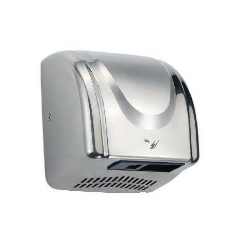 Déstockage - AKW - Sèche mains électrique en inox 2300W (accessibilité PMR)