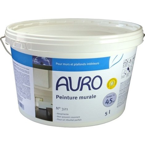 Auro - Peinture Murale Intérieur 5 Litres (100% naturelle) - N° 321