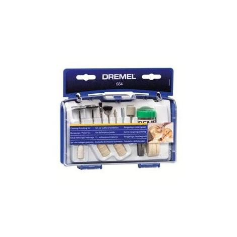 Déstock - Dremel – Jeu de 20 pièces nettoyage / polissage