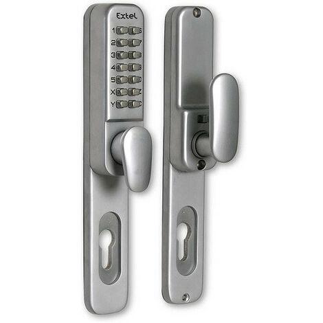 Extel - Poignée de porte avec clavier autonome pour porte 35 mm à 60 mm