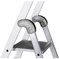 Promotion - Promo Centaure - Escabeau aluminium laqué 6 marches hauteur d'accès maxi 3,30 m - EXPERT 54