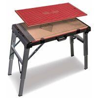 Rubi - Table de travail 4 en 1, 115 x 52 x 80 cm