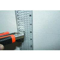 Edma - Règle à découper la plaque de plâtre - 163155