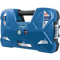 Scheppach - Compresseur portatif 1,1kW 8 bar 2L - AIR CASE