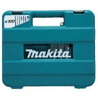 Makita - Coffret de forets et d'embouts 100 pièces