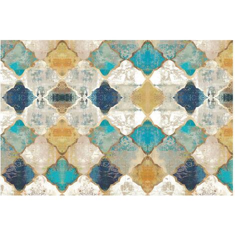 Tapis antidérapant de grande cuisine de tapis de plancher de tapis de tapis de plancher de couloir de porte de tapis 50*120CM