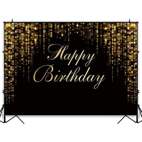 Joyeux anniversaire fête thème photographie toile de fond arrière-plan Photo Studio accessoires