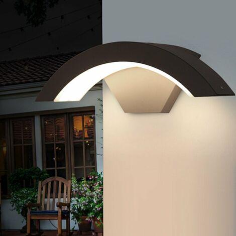 Lumière extérieure mural Applique de jardin LED 15W