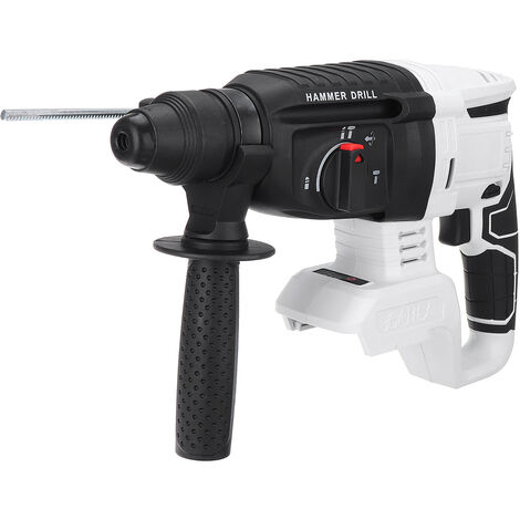 Perforateur burineur sans brosse blanc pour batterie Makita 18V (Batterie NON INCLUS)