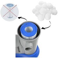 Balles en polyester pour filtre 700g Boule de filtre Purification De L'eau Fibre Déshuilant De Piscine Spa