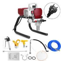 Doersupp 1800W Machine de Peinture à Pulvérisateur de Peinture sans air électrique Pistolet de pulvérisation de mur à haute pression