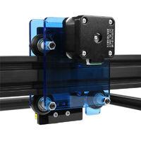 20W bricolage Laser gravure Machine 400mm * 380mm zone cadre coupe imprimante graveur métal bois coupe conception acier inoxydable