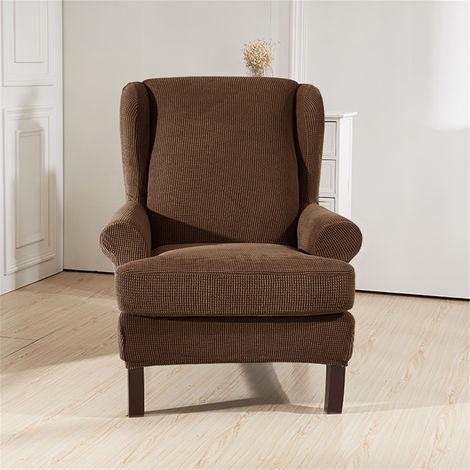 Funda sofá 1 plaza protección sillón café extensible