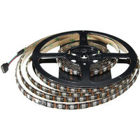 5050 Rgb Led Srtip 60 Smd Strip Light 5V Ip65 + 3M Control remoto Hasaki