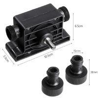 Taladro de mano eléctrico Accionamiento de 9 pies Bomba autocebante Fluido Aceite Agua Transferencia pequeña