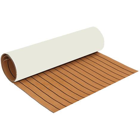 35X91 '' Eva Marine Foam Teak Floor Sheet Boat Decking Carpet Yacht Floor Mat Hasaki