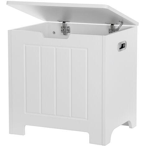 2021 Laundry Storage Cabinet 50*40*48 White Wooden Storage Case