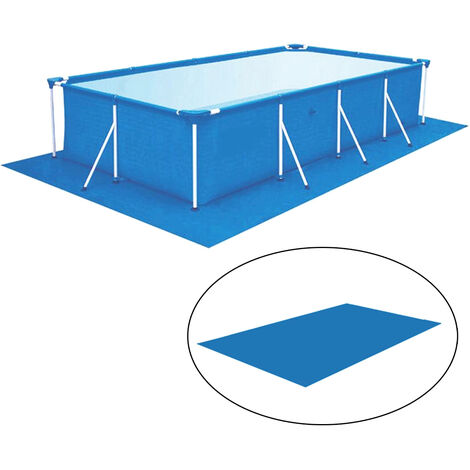 Swimming Pool Square Ground Mat Cloth Lip Cover Dustproof Cloth Rectangle 330x230cm