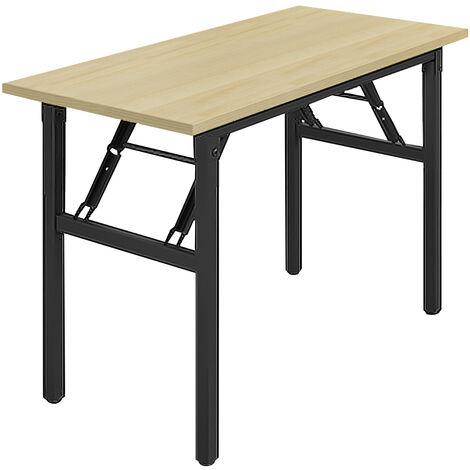 Folding Computer Desk PC Laptop Table Workstation Office Desk 100X50X75cm
