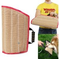 Durable Jute Dog Bite Arm Sleeve For Military Police Chewing Protection Guard Training Supplies Protection Hasaki