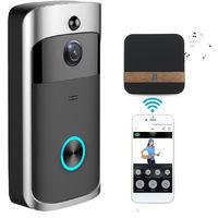 WiFi Doorbell IR Video Camera Security Night Vision Telephone Control US SOCKET Hasaki