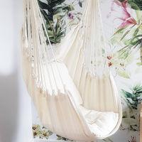 Hanging Hammock Chair Outdoor Indoor Garden Bedroom Swing Safety Hammock