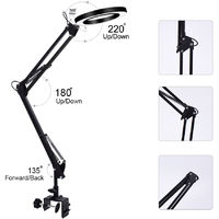 LED lamp USB magnifier 360 ¡ã reading light Energy saving