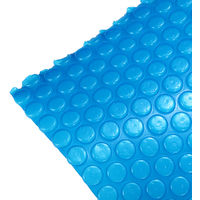 Swimming Pool Cover Bubbles Floating Film Solar Heating Basin Round Cover 1.8x1.8M