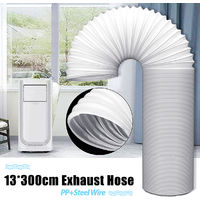 118 '' Exhaust Pipe Tube For Air Conditioner 5 '' Diameter Exhaust Pipe Steel Wire Hasaki