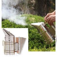 Beekeeping Smoker Equipment Hive In Stainless Steel Large Bee Hasaki