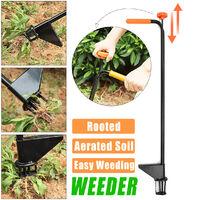 Garden Tool Claw Stand Up Weeder Stainless Steel Long Bar Weeder Garden Remove Weeds Courtyard Weeding Device