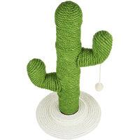 Pet Cat Cactus Scratcher Tree Climbing Scratching Board Green