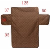 Pet Sofa Chair Furniture Protective Cover Pad Coffee