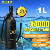 1L Scuba Tank Breath Diving Cylinder Oxygen Tank