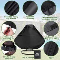 Egg Swing Chair Cover Anti-UV Waterproof Outdoor Garden Furniture Protector