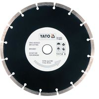 Yato diamond blade disc 115mm segment type for concrete, bricks tile masonry