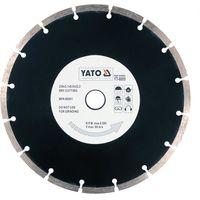 Yato diamond blade disc 230mm segment type for concrete, bricks tile masonry
