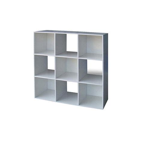 Libreria Disegno bassa bianca lucida LB4800 L82h112p36