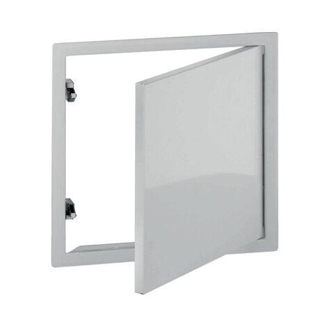Trappe de visite en acier laqué blanc Placo® - 300*300 mm