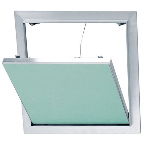 Trappe de visite en aluminium et plaque de plâtre hydrofuge Placo® - 500*500 mm