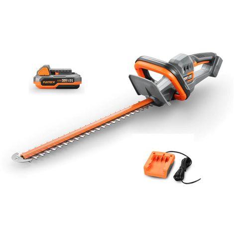 FUXTEC 20V cordless hedge trimmer - kit E1HS20