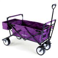 FUXTEC Folding Wagon / Foldable Wagon / Trolley / Hand Cart JW-76C PURPLE