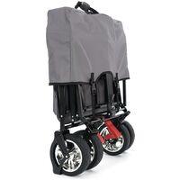 FUXTEC Folding Wagon / Foldable Wagon / Trolley / Hand Cart CT-500 RED