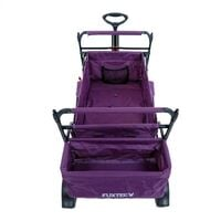 FUXTEC Folding Wagon / Foldable Wagon / Trolley / Hand Cart CT-500 PURPLE