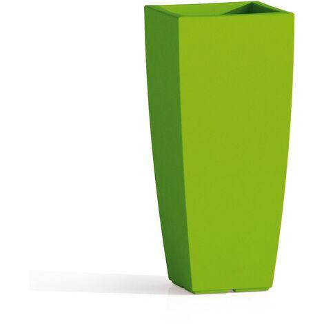 Vaso Agave In Resina Quadrato Verde H70 33x33Cm