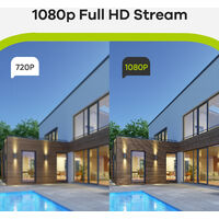 SANNCE 16CH 1080p Security Camera System 5 in 1 CCTV DVR Recorder Waterproof Wired Video Surveillance Kits 16 Cameras – 0TB Hard Drive