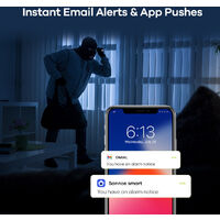 SANNCE 8CH 1080p Security Camera System 5 in 1 CCTV DVR Recorder Wired Waterproof Videosurveillance Kits For Home Outdoor 8 Cameras – 2TB Hard Drive