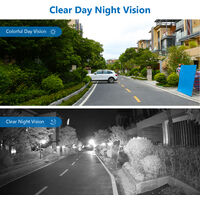SANNCE 8CH 1080P 1080P HD Security System With 8 Weatherproof Night Vision White Bullet Cameras - 0TB Hard Drive Disk