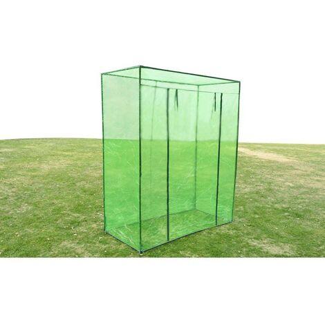 Hommoo Invernadero armazón de acero PVC