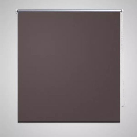 Estor Persiana Enrollable 80 x 230 cm Café